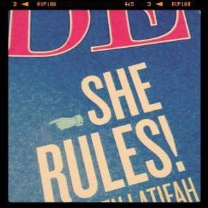 she rules